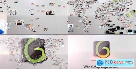 Videohive Corporate World Logo
