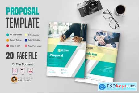 20 Page Proposal Template
