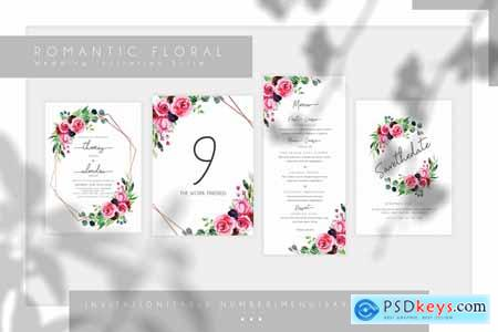 Romantic Floral Wedding Suite
