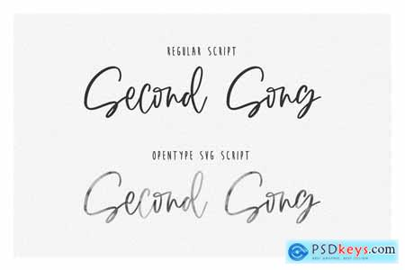 SECOND SONG SVG