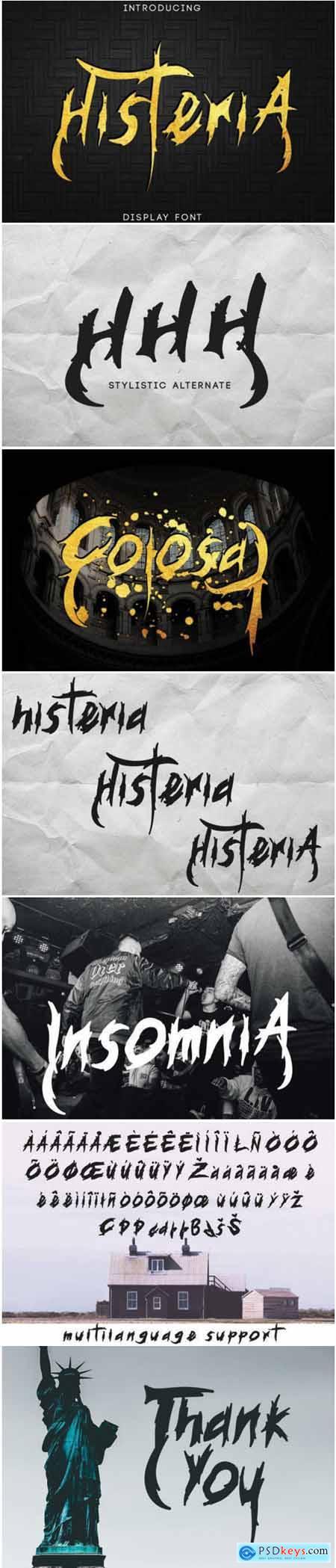 Histeria Font