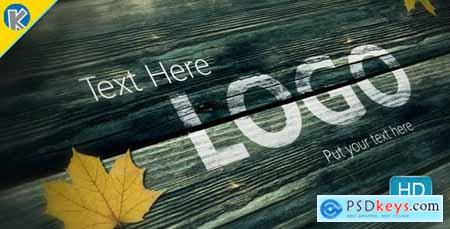 Videohive Moving Wood Texts