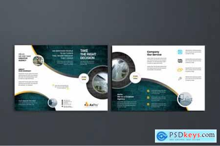 Corporate Business Trifold Brochure 3581413
