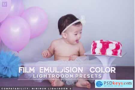Film Emulsion Color Lightroom Presets