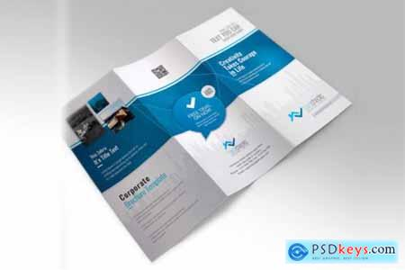 Corporate Business Trifold Brochure 3581410