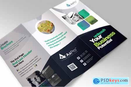 Corporate Business Trifold Brochure 3581421