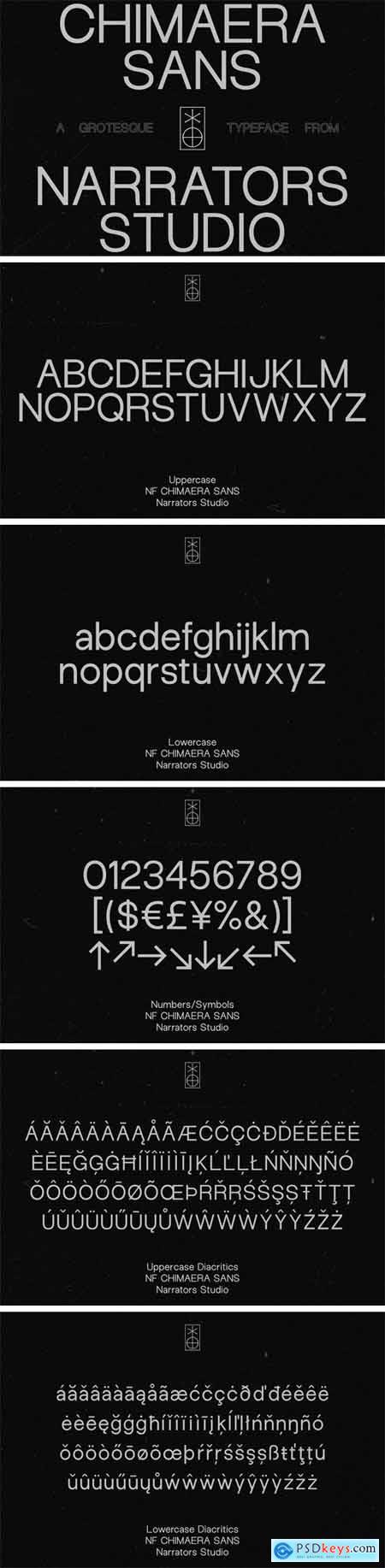 Creativemarket NF Chimaera - Grotesque Sans Serif 3447627