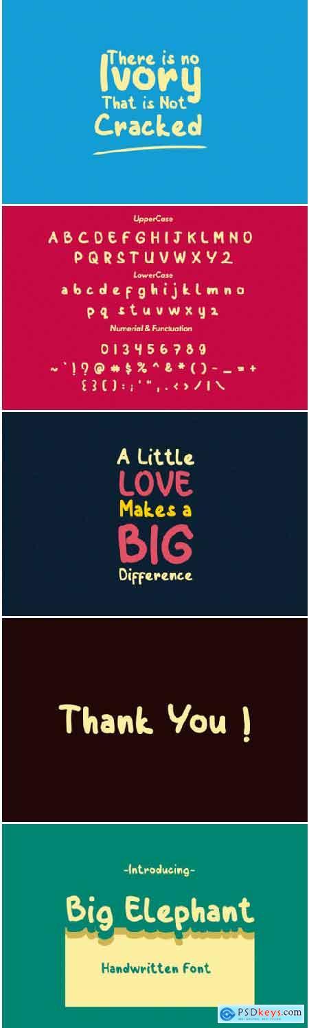 Big Elephant Font