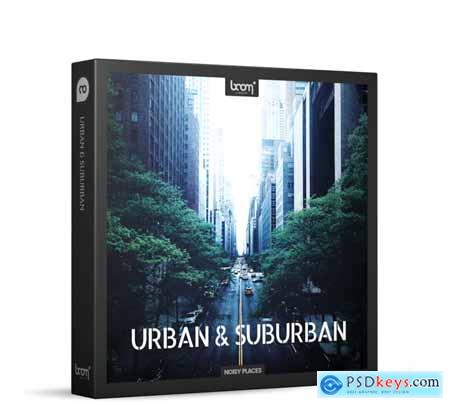 Boom Urban and Suburban - Boom Library Free