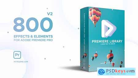 Videohive Premiere Library Most Handy Effects V2