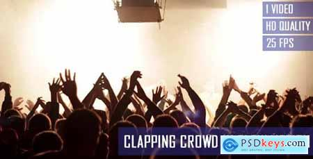 Videohive Clapping Concert Crowd In Slow Motion
