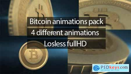 Videohive Bitcoin Animations Pack