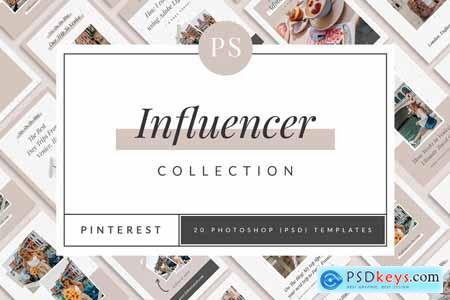 Influencer Pinterest Templates