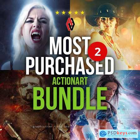 Most Purchased Actionart Bundle 2