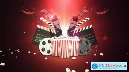 Videohive Cinema Logo Intro