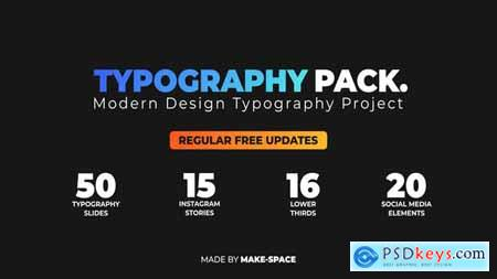 Videohive Typography Design Pack