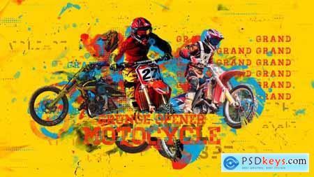 Videohive Motorcycle Grunge Opener