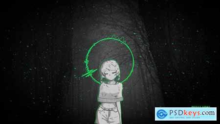 Videohive Animated Audio Spectrum Music Visualizer 23926346