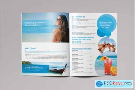 Bifold Travel Brochure 3584226