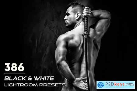 386 Black & White Lightroom Presets