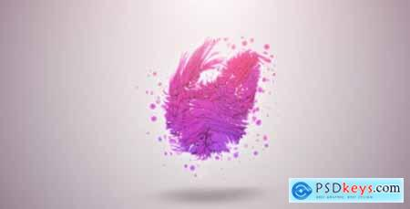 Videohive Organic Particles Logo Reveal