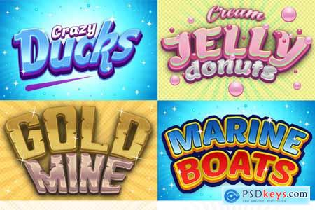 Game Logo Text Effect Styles Bundle 3741328
