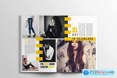 Linda Fashion Megazine Template 1757083