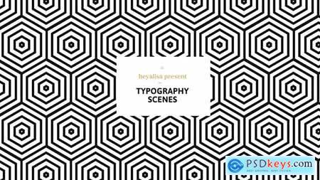 Videohive Grafica Minimalistic Typography Scenes