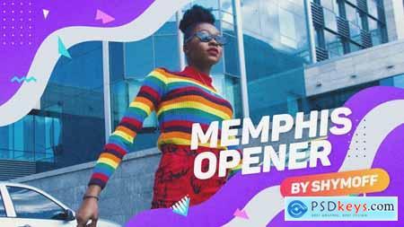 Videohive Memphis Liquid Opener