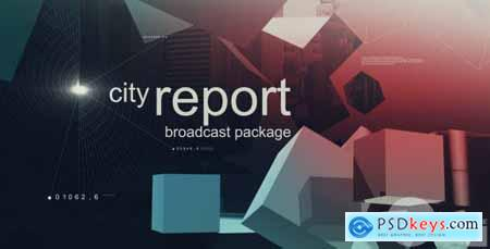 Videohive City Report Broadcast Package