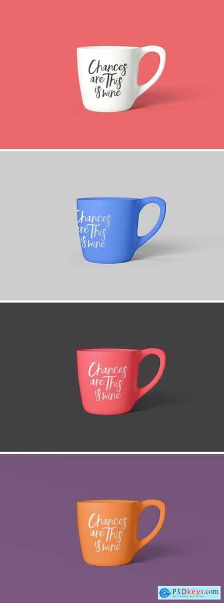 Coffee Mug Photoshop Mockup