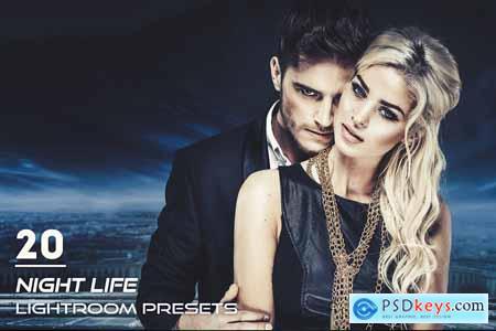 20 Night Life Lightroom Presets 3844396
