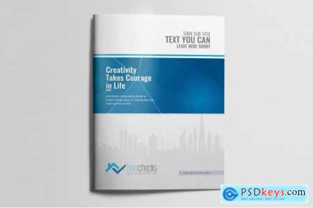 Corporate Business Bifold Brochure 3585735