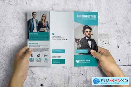 Trifold Corporate Brochure 3585140