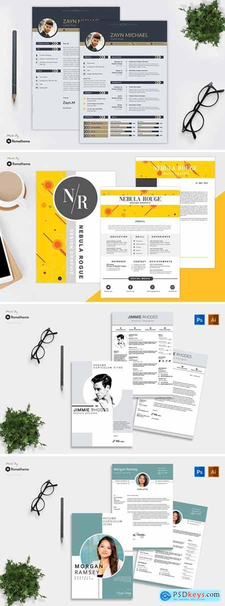 Clean CV Resume Bundle 2
