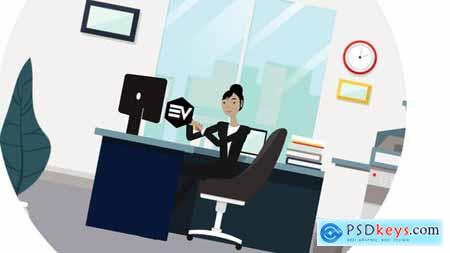 Videohive Character Business Logo reveal v.1