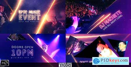 Videohive Epic Music Event