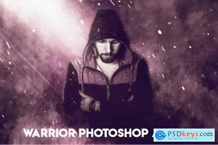 Warrior Photoshop Action