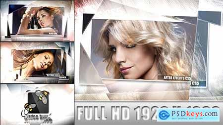 VideoHive Glass Slide