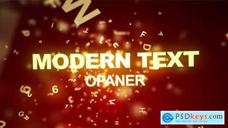 VideoHive Modern Text Opener