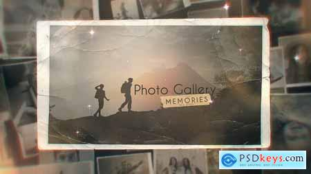 Videohive Memories Photo Gallery