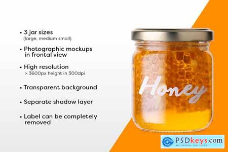 Honey Jar Mockups 3526912