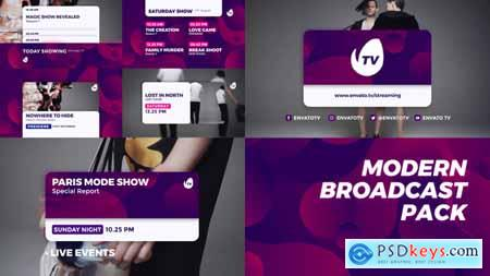 Videohive Modern Broadcast