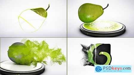 Videohive Pear Particles Logo Reveal
