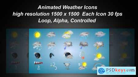 Videohive Weather Icons