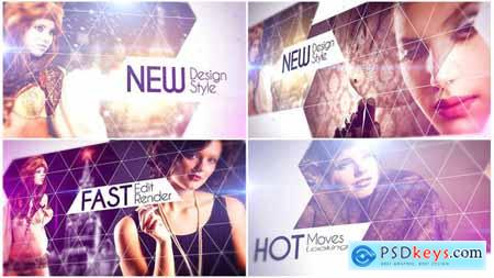 Videohive Elegant Triangles