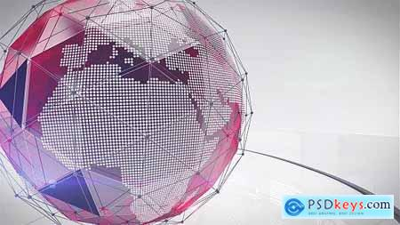 Videohive Triangle Broadcast Ident Pack