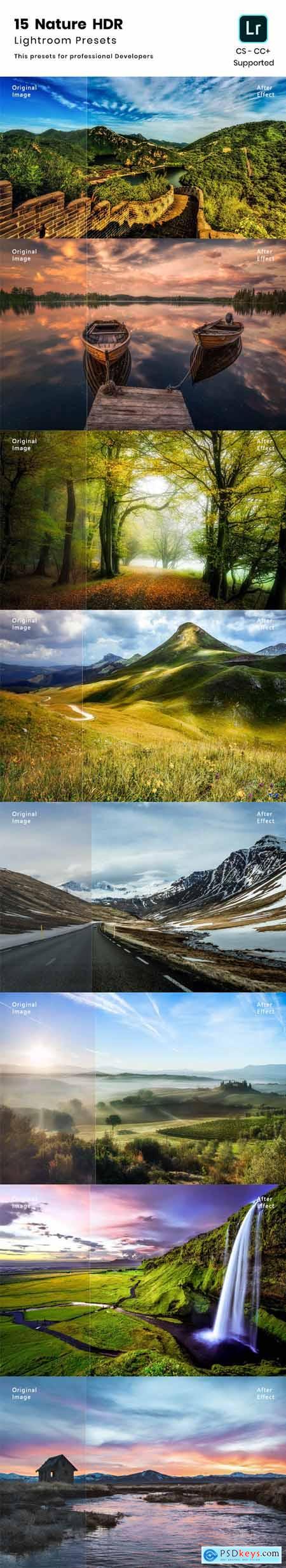 15 Nature HDR Lightroom preset 23973019