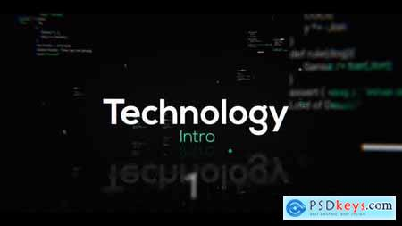 Videohive Technology Intro