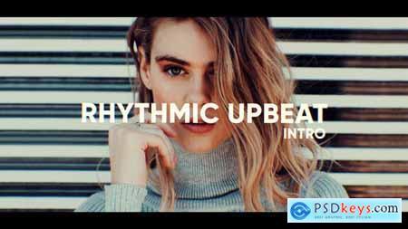 Videohive Rhythmic Upbeat Intro